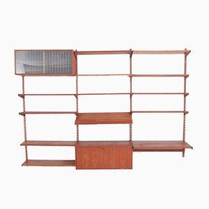 Système de Rangement Vintage en Palissandre par Kai Kristiansen pour Feldballes Møbelfabrik