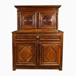 Antique French Walnut Cupboard, 1770s