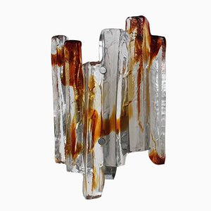 Murano Glass Wall Sconce from Mazzega, 1950s
