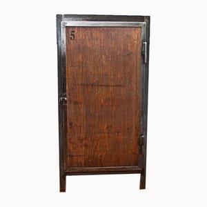 Mobiletto per gli attrezzi vintage da fabbro