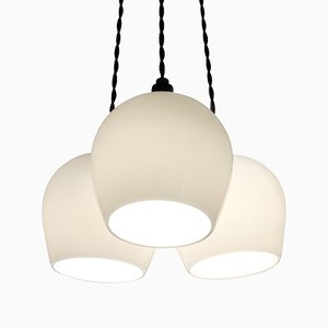 Bell 125 3-Drop Pendant Light by One Foot Taller