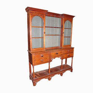 Antique Pitch Pine Dresser from Cardigan