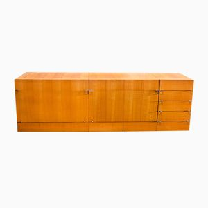 French Varnished Oak Sideboard, 1960s