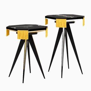 Petites Tables Xo de ESTEMPORANEO, Set de 2