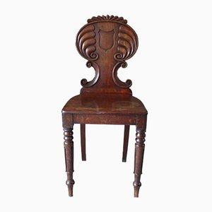 Chaise de Hall Regency Antique