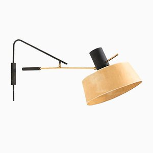 Large French Wall Lamp from Arlus, 1960s