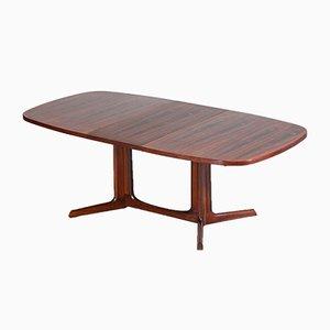 Großer Esstisch aus Palisander, 1960er