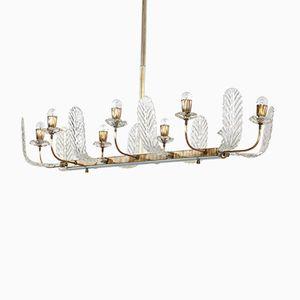 Lámpara de araña vintage de Barovier & Toso