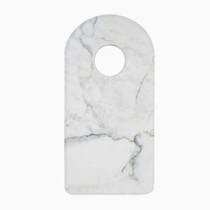 Scheidenbrett aus weißem Marmor von FiammettaV Home Collection