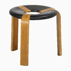 Vintage Stool by Rud Thygesen for Magnus Olesen