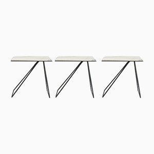 Tavolini da caffè modulari di Anouchka Potdevin, set di 3