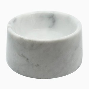 Cat or Dog Bowl in White Marble from FiammettaV Home Collection