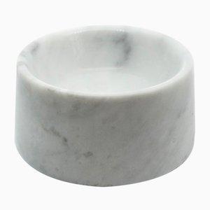 Ciotola da cane o gatto in marmo bianco di FiammettaV Home Collection