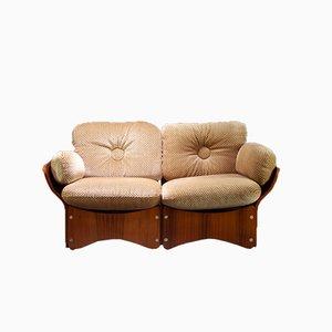 Spica Sofa aus Palisander von Max Clendinning für Race Furniture, 1960er
