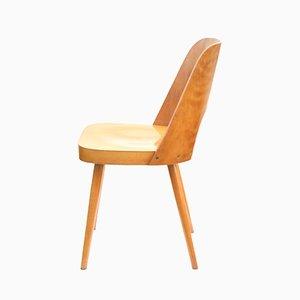 Stuhl aus Schichtholz von Lubomir Hofman für TON, 1960er