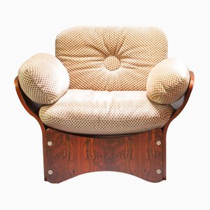 Sillón Pica de palisandro de Max Clendinning para Race Furniture, años 60
