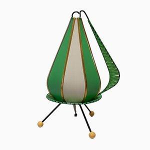 Lámpara de mesa Rockabilly de la RDA, años 50