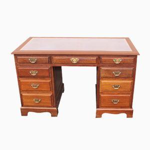 Mahogany Pedestal Desk, 1920s
