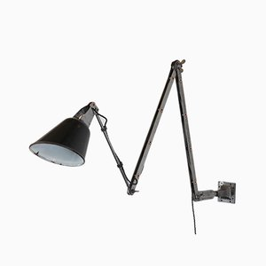 Industrial Wall Mounted Lamp from Walligraph, 1930s