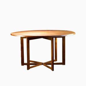 Vintage Drop-Leaf Oak Dining Table from Gordon Russell