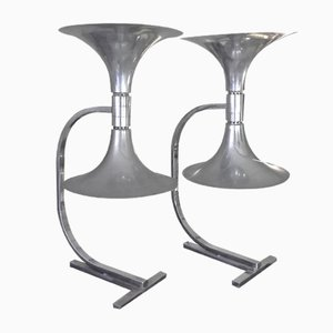 Vintage Table Lamps by Franco Albini for Sirrah, Set of 2