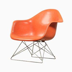 Chaise d'Appoint à Pied Coulissant LAR Vintage par Charles & Ray Eames pour Herman Miller