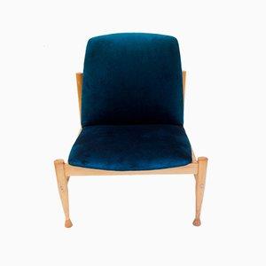 Polish Lounge Chair by Marian Grabiński for Zjednoczenie Przemysłu Meblarskiego w Poznaniu, 1960s