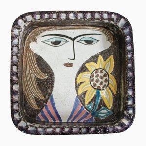 Cuenco de Marianne Simmulson para Upsala Ekeby, años 50