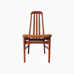 Lackierte Holzstühle, 1970er, 4er Set