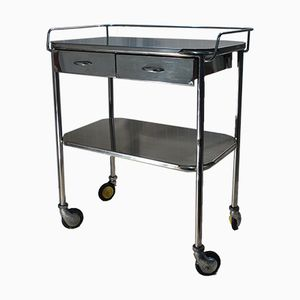 Stainless Steel Medical Trolley, 1964