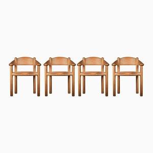 Esszimmerstühle von Rainer Daumiller, 4er Set