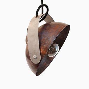 Lampe à Suspension en Cuivre par Joe Lyster pour Lumo Lights