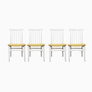 Scandinavian Rustic Chairs, 1960s, Set of 4
