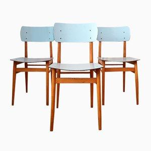 Tschechische Stühle von TON, 1960er, 3er Set