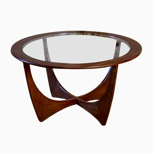 Mid-Century Teak and Glass Astro Coffee Table by G-Plan