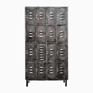 Vintage Industrial Polished Locker
