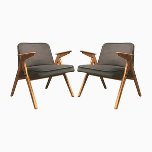 Type 300-177 Armchairs by Józef Chierowski, 1960s, Set of 2