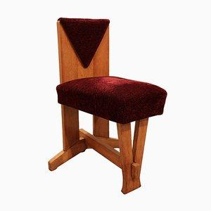 Vintage Art Deco Beistellstuhl von Laurens Groen