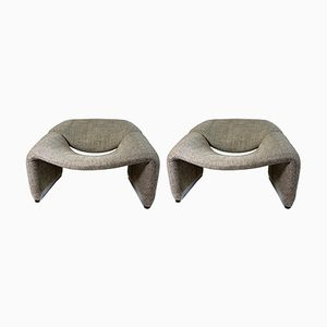 F598 Chairs by Pierre Paulin for Artifort, 1950s, Set of 2