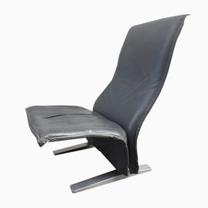 Concorde Leather Lounge Chair by Pierre Paulin for Artifort, 1966