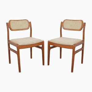 Esszimmerstühle von Johannes Andersen für Uldum Møbelfabrik, 1960er, 2er Set