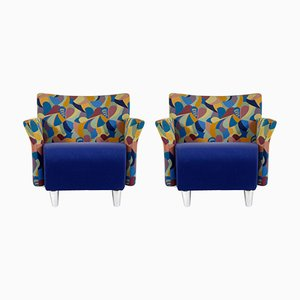 Vintage Lounge Chairs by Erik Jørgensen, Set of 2