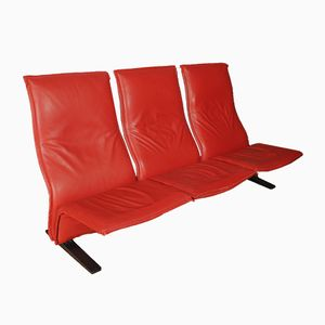 Mid-Century Concorde Settee by Pierre Paulin for Artifort