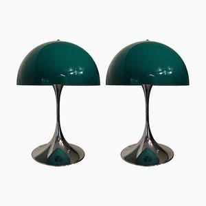 Lampada da tavolo Panthella vintage di Verner Panton