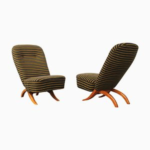 Model Congo Chairs by Theo Ruth for Artifort, 1950s, Set of 2
