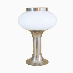 Opaline Table Lamp from VEB Narva Kombinat, 1970s