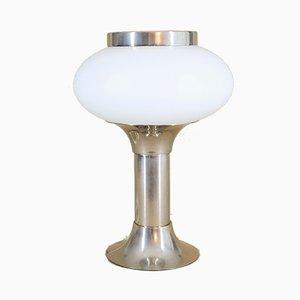 Tischlampe aus Opalglas von VEB Narva Kombinat, 1970er