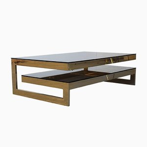 Vintage Two-Tier Coffee Table from Belgo Chrom