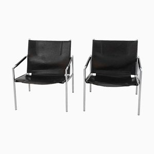 Vintage SZ02 Easy Chairs by Martin Visser for 't Spectrum, Set of 2