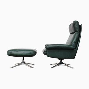 Vintage DS-31 Lounge Chair & Ottoman by De Sede